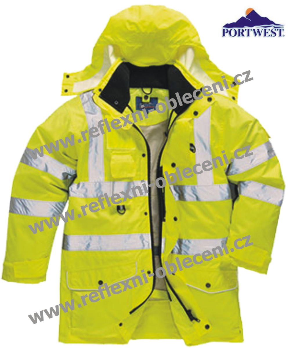 HI-VIS BUNDA 7V1 TRAFFIC PW-s427